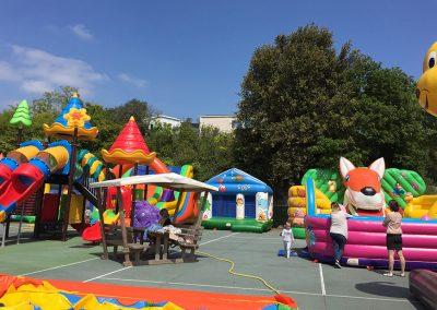 Camping Les Ormeaux - Aire de jeux enfants 02b