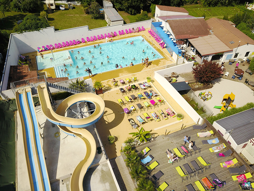 Camping Les Ormeaux - St Palais sur Mer - Espace aquatique piscine